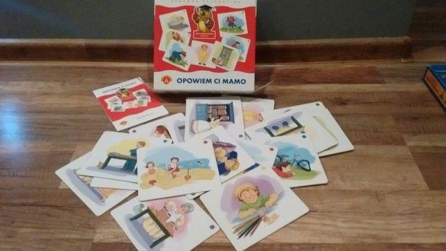 Gra- Opowiem ci mamo+karty 2 sztuki