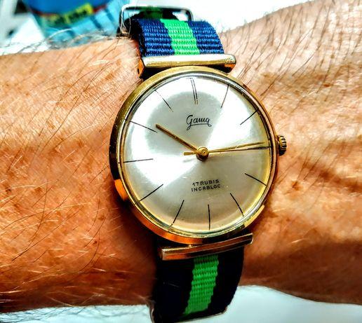 Zegarek me1chaniczny pozłacany GAMA
