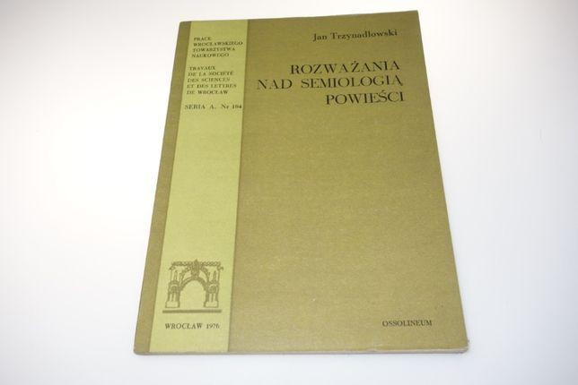 Rozważania nad semiologią powieści Trzynadlowski
