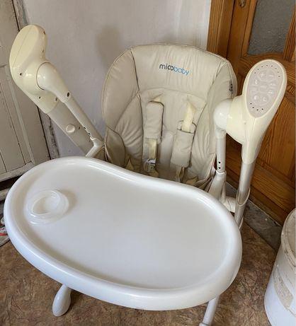 Mioobaby jazz стульчик для кормления, стул-качеля