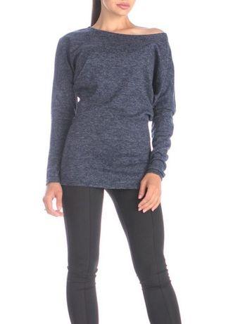 Джемпер тёмно-синий свитер реглан Atmosphere