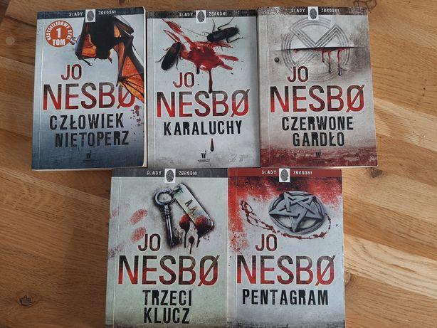 Jo Nesbo seria 5 części pocket