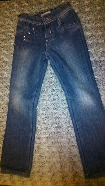 Теплые джинсы скинни