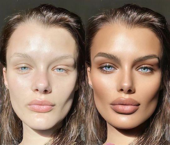 Художественная обработка + beauty ретушь фотографий  Photoshop