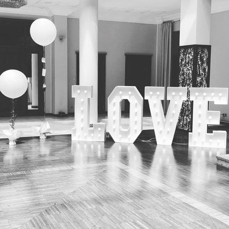 Napis Love Retro Na Twoje Wesele