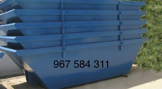Contentores de entulho/resíduos de obras