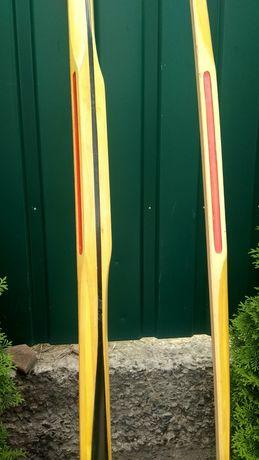 Эксклюзивные коллекционные деревянные лыжи с выставки, не б/у,две пары