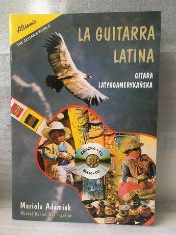 NOWA książka La guitarra latina - gitara latynoamerykańska + CD