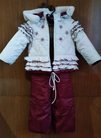 Зимний костюм Комбинезон Одежда для девочки