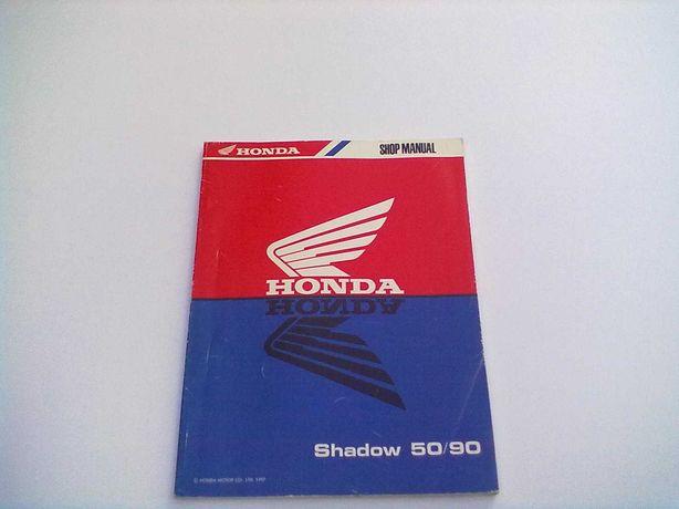 Manual Técnico Oficial Honda Shadow 50-80