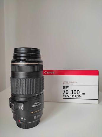 Lente Canon EF 70 300mm f/4-5.6 IS USM