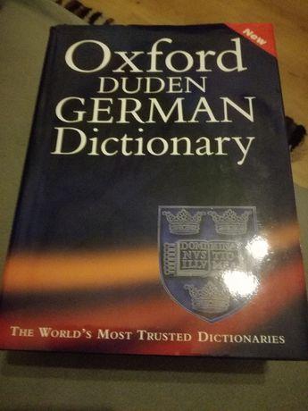 Słownik oxford angielsko-niemiecki i niemiecko-angielski