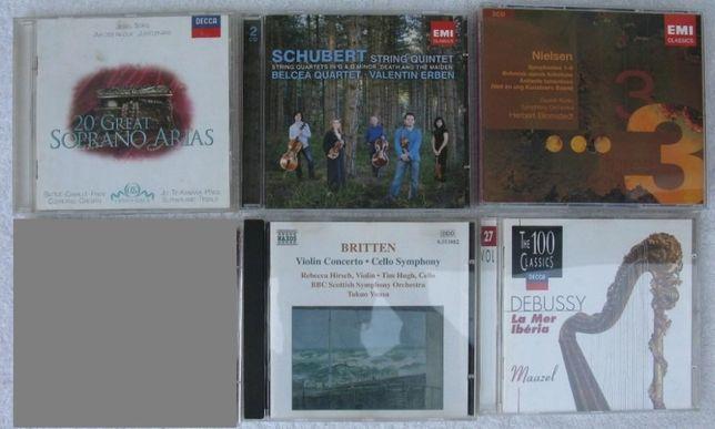 Lote de 6 CDs - Vendo em separado