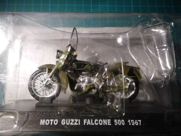 moto guzzi falcone 500,nowe 1:24,z 1967r. kolekcje