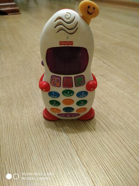 Дитячий іграшковий телефон Fisher Price .