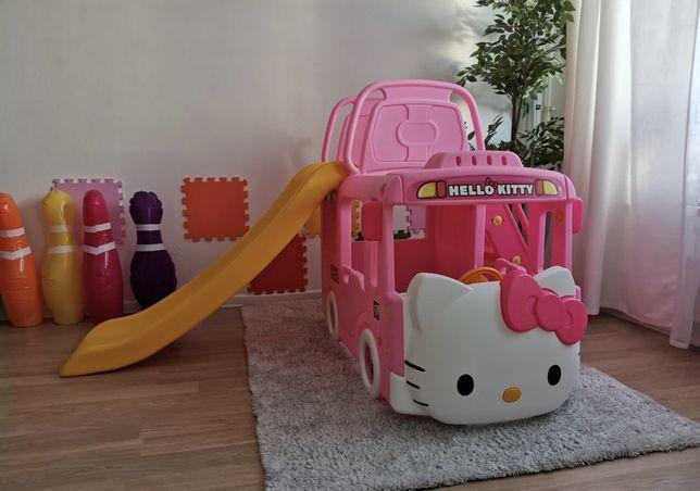Детский игровой комплекс с горкой Hello Kitty