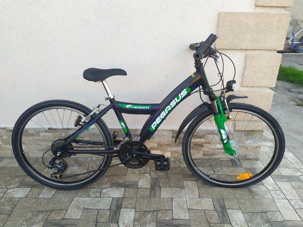 Велосипед Pegasus Avanti Alu з Німеччини на 24 колесах підлітковий