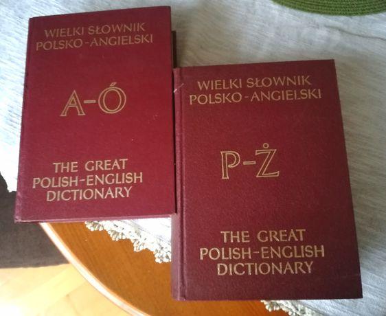 Słownik Angielskko - Polski, Polsko - Angielski 2 szt