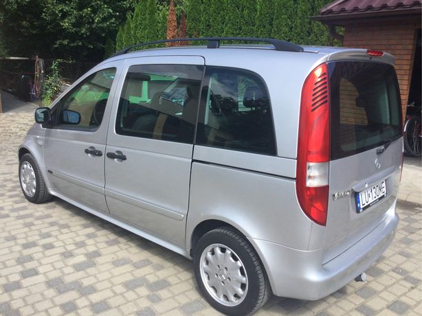 Mercedes Vaneo benzyna gaz salon Polska
