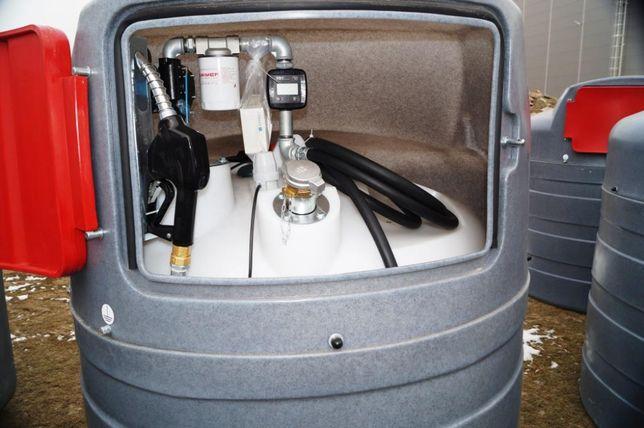MIASTKO Zbiornik dwupłaszczowy na paliwo SWIMER 1500 l ON Diesel
