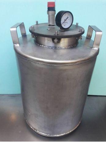 Автоклав нержавейка 24 поллитровых 10 литровых