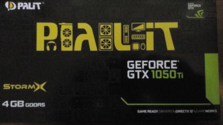 Видеокарта GTX 1050 Ti 4GB
