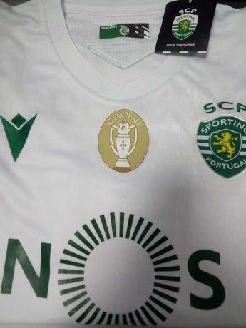 camisola campeão sporting clube portugal 2021