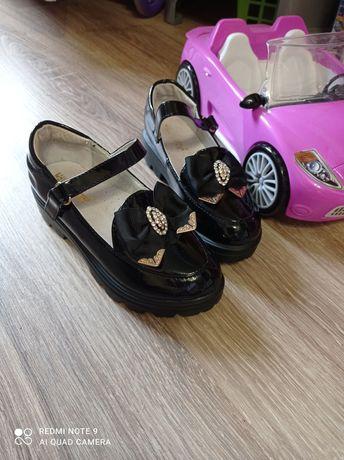Туфлі туфельки лофери туфли взуття для дівчинки