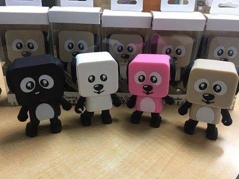 Портативная Bluetooth колонка танцующая собака робот. Танцующая Собака