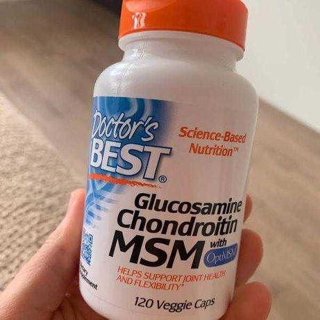 Глюкозамин, хондроитин и МСМ с OptiMSM