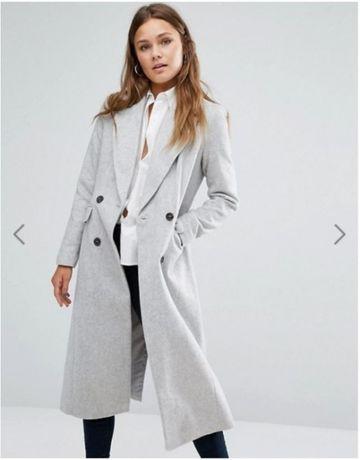 Szary płaszcz New look 36 S