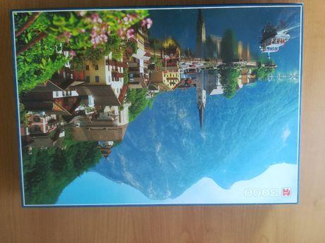 obraz z puzli ułożone puzzle