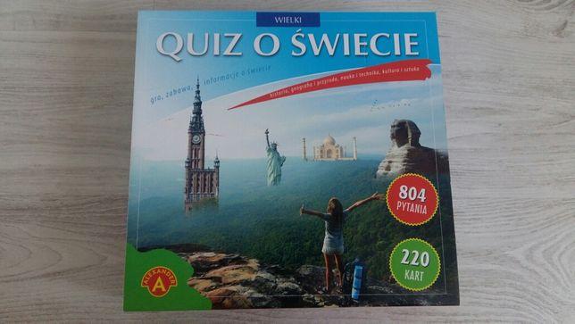 """Gra planszowa ,,Quiz o świecie"""""""