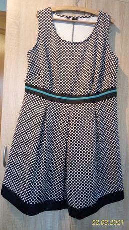 Bodyflirt sukienka w groszki 48/50