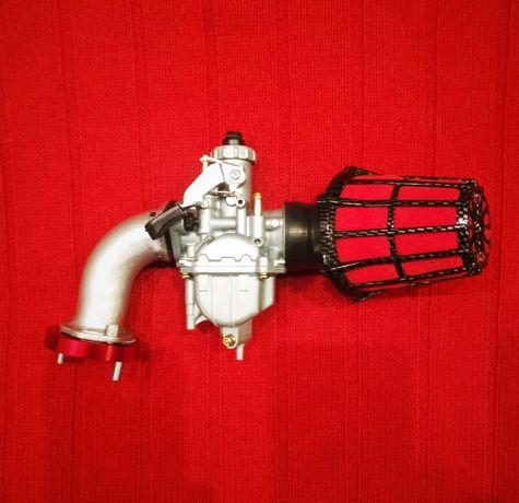 """Тюнинг -комплект карбюратор Mikuni VM22 PZ26 """"Питбайк кросс"""" Kiyoshi"""