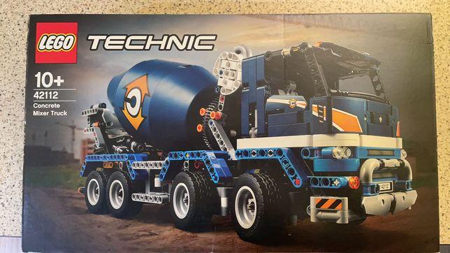 Klocki LEGO Technic 42112 Betoniarka - paragon, nowy, szybka wysyłka!