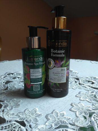 Zestaw  bielenda botanic formula Kremowy olejek myjący do twarzy