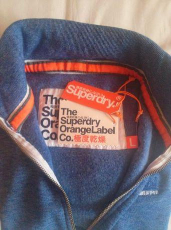 Nowa bluza Superdry TT niebieska meska champion stussy tommy