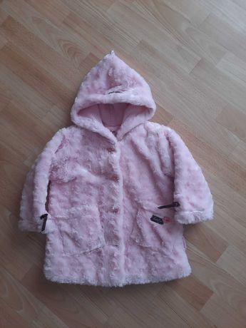 Futerko na zime dla dziewczynki