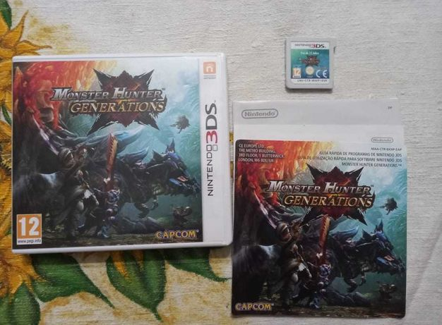 Monster Hunter Generations   Nintendo 3DS   Completo