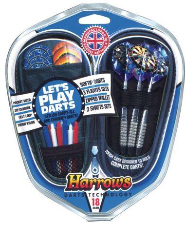 Zestaw Harrows Softip- Lets Play Darts Gift Set