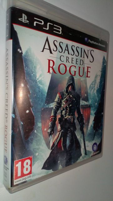 Gra PS3 Assassins Creed Rogue gry PlayStation 3 Uncharted Gta moh