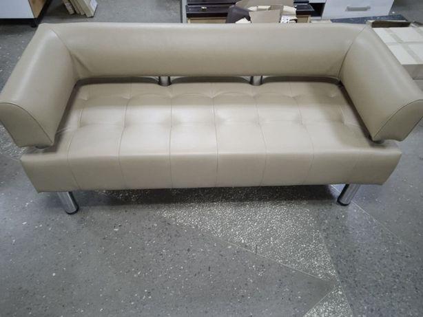 Офисный диван (новый) - кож.зам Софитель