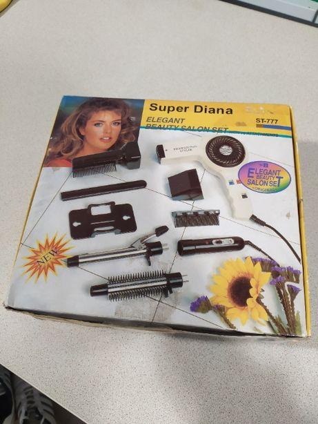 Фен + локон Super Diana. 3 в 1 1500 Вт