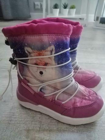 Buty zimowe śniegowce 25