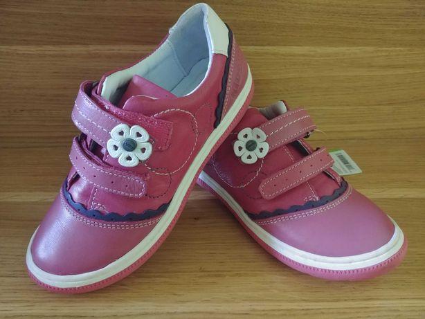 Nowe skóra Lasocki CCC buty półbuty jesienne dla dziewczynki 30