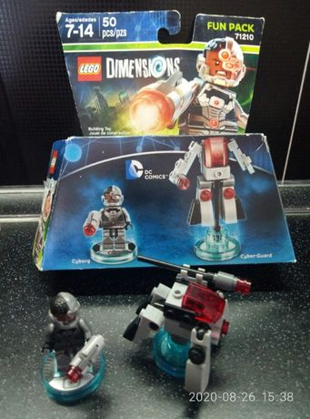 Лего Lego Dimensions Cyborg Киборг