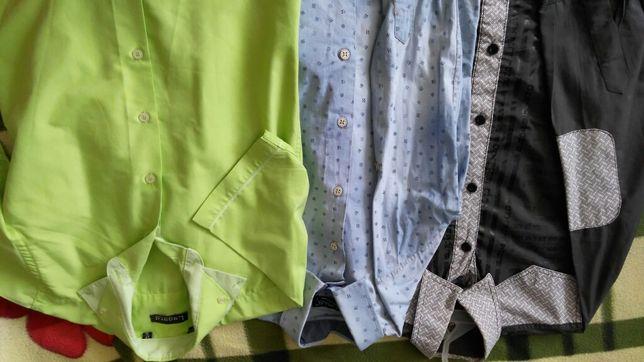 Сорочка для хлопчика, джинсова сорочка натуральна тканина