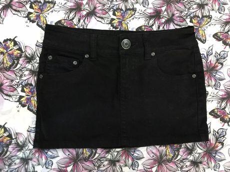 Spódniczka mini jeans 38