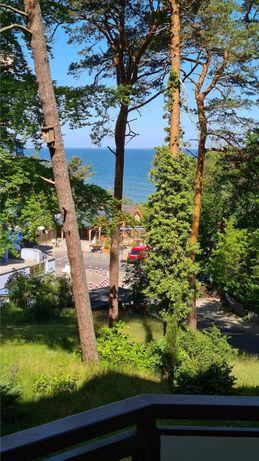 Międzyzdroje apartament z widokiem na morze.
